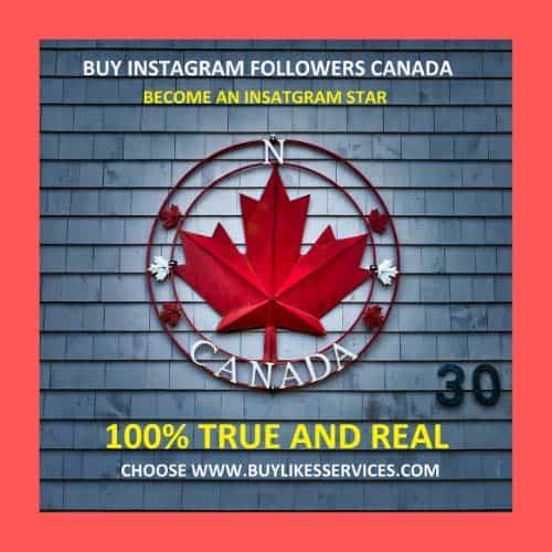 Buy Instagram Followers Canada