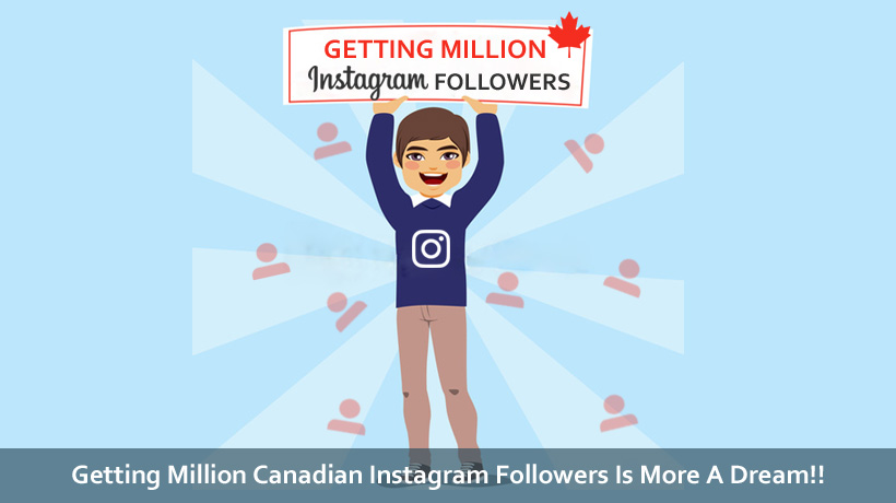 Buying Canadian followers on Instagram