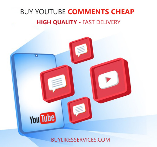 Buy Youtube Comments Cheap