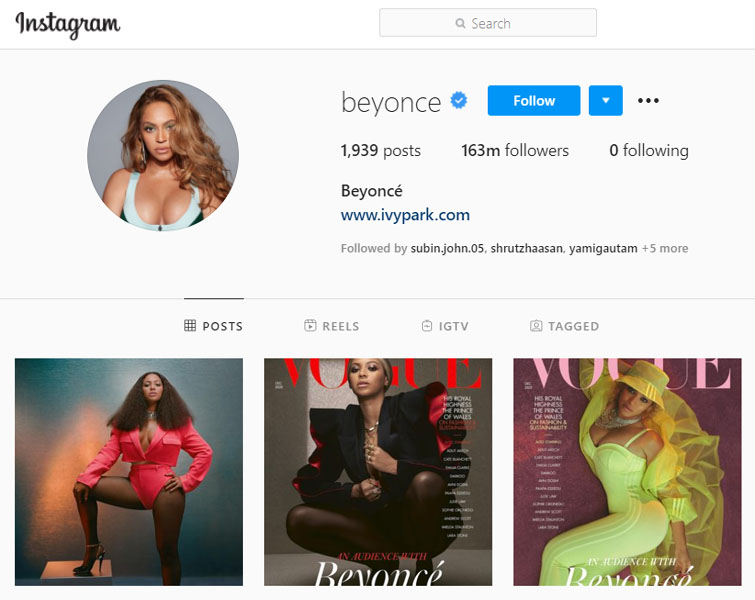 Celebrity who has the most followers on instagram