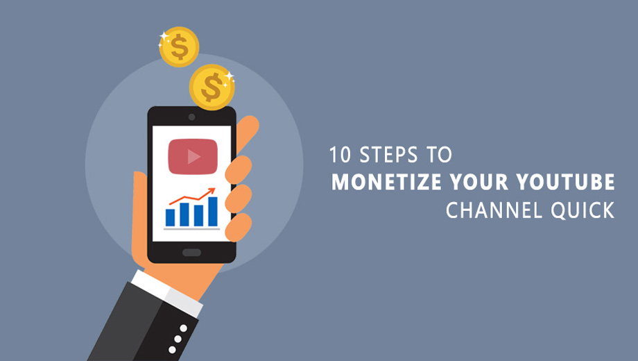 A step-by-step guide to monetizing your youtube channel quickly and effortlessly by buying youtube likes, views, and subscribers.