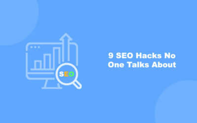 9 SEO Hacks No One Talks About