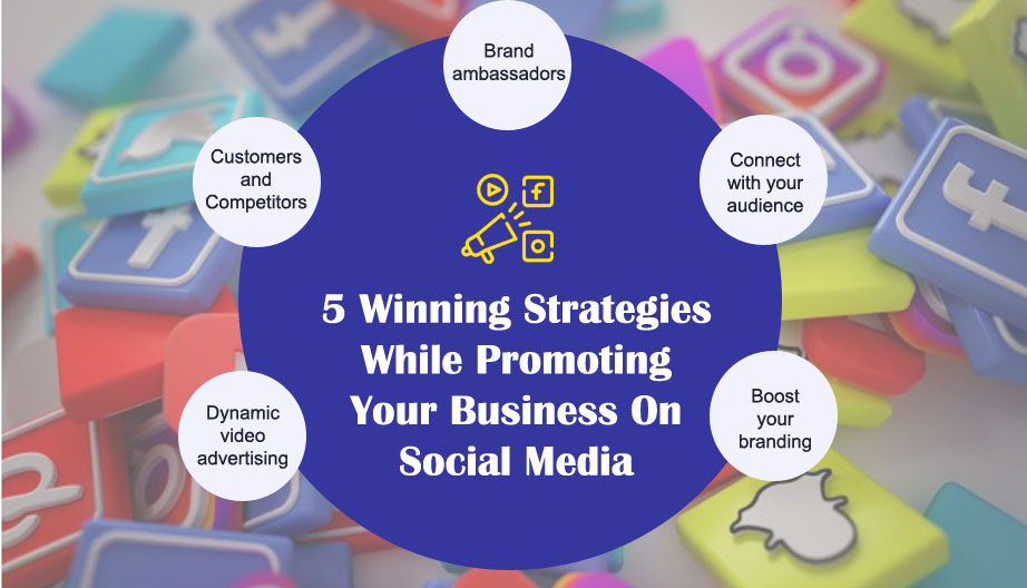 Five Winning Strategies While Promoting Your Business On Social Media