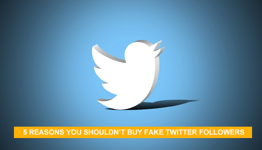 5 Reasons You Shouldn't Buy Fake Twitter Followers