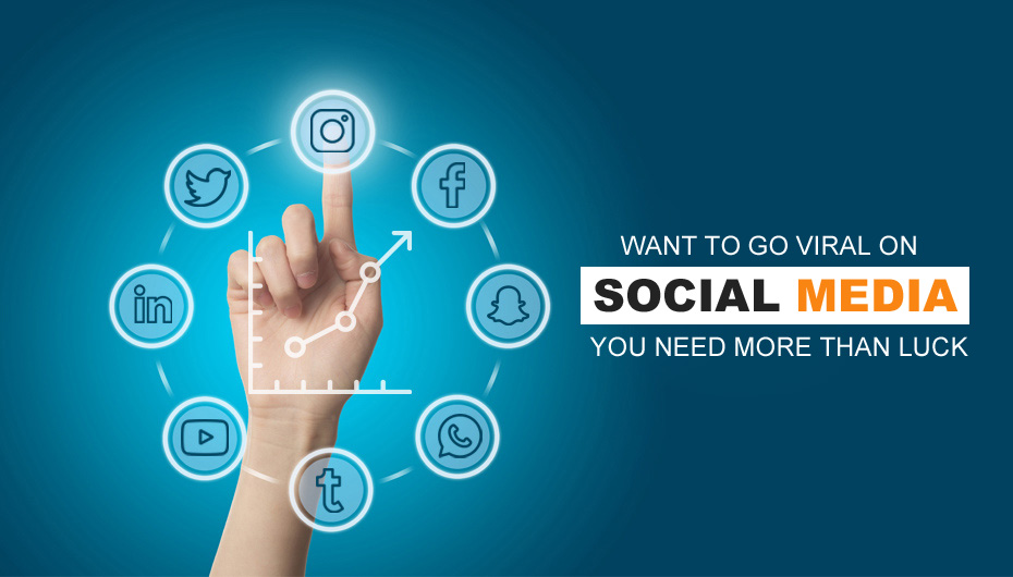 Want To Go Viral On Social Media? You Need More Than Luck